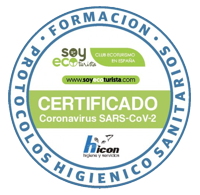 Sello formación COVID19 Asociación Ecoturismo en España